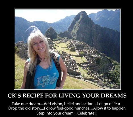 recipe for living your dreams